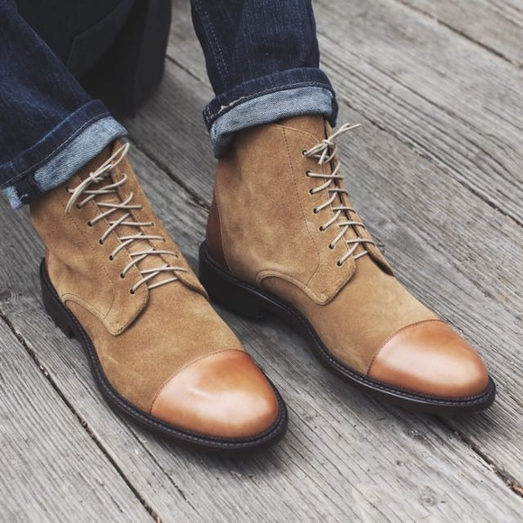 Taft Mens Boots Troy Lace Up Boot